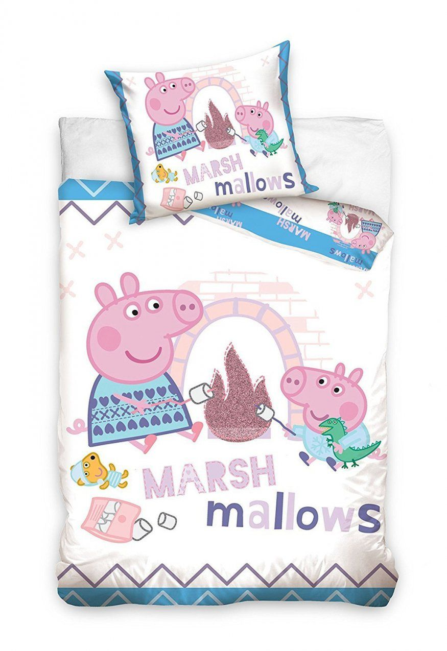 Mytoyscenter  Peppa Wutz Bettwäsche Marshmallows 100X13540X60 von Mytoys Bettwäsche 100X135 Photo
