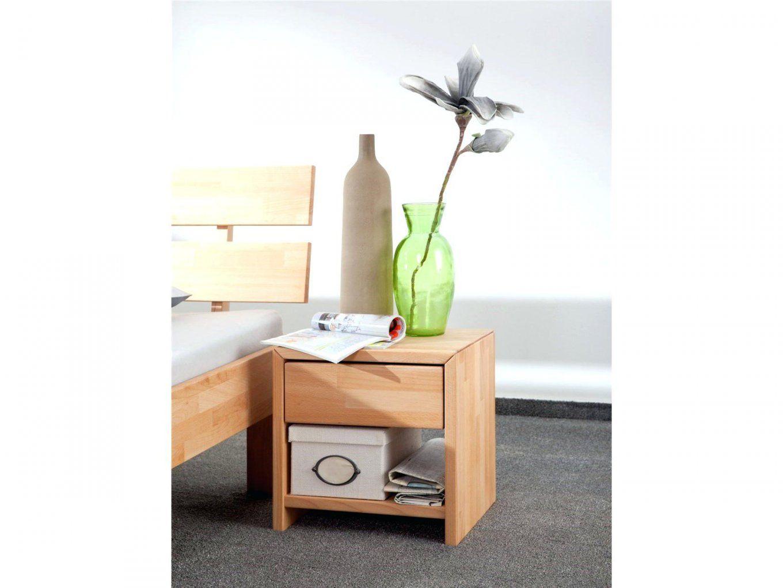 Nachttisch 40 Cm Breit Buche Massiv Enorm Mit Schublade Und von Nachttisch 40 Cm Breit Bild