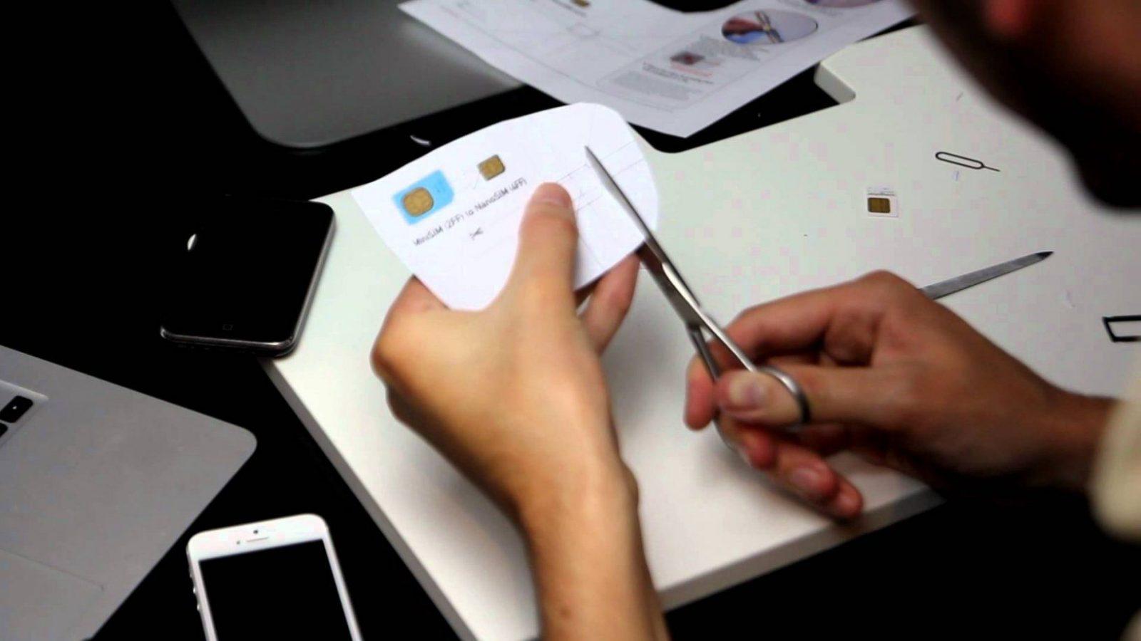 Nano Sim Tutorial  Selber Schneiden In 10 Minuten  Youtube von Nano Sim Zu Micro Sim Adapter Selber Bauen Bild