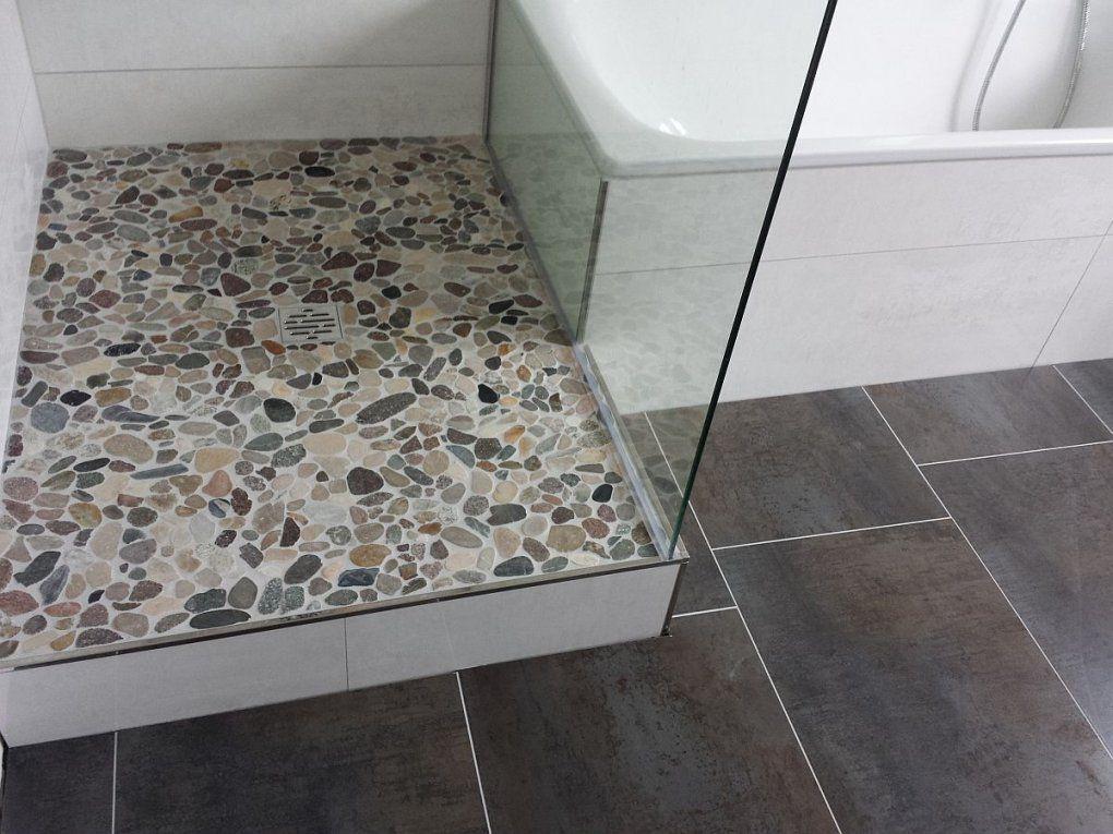 Naturstein Dusche Reinigen von Mosaik Fliesen Dusche Reinigen Photo