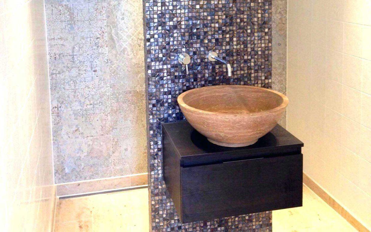 Naturstein Mosaik Fliesen Mosaikfliesen Bad Wand Boden Badezimmer von Mosaik Fliesen Türkis Bad Bild