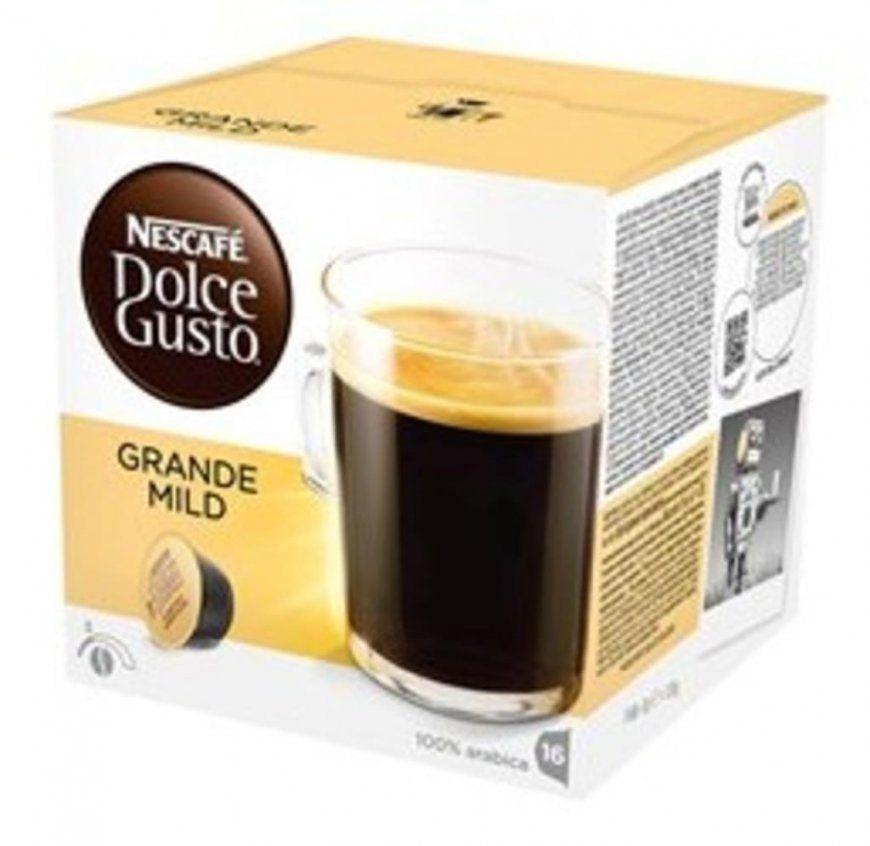 Nescafé Dolce Gusto Grande Mild  16 Kaffeekapseln  Real von Real Dolce Gusto Angebot Bild