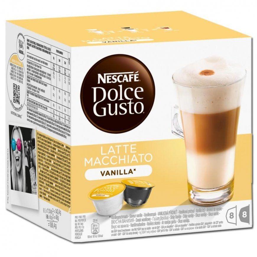 Nescafé Dolce Gusto Latte Macchiato Vanilla  8  Real von Dolce Gusto Angebot Real Bild