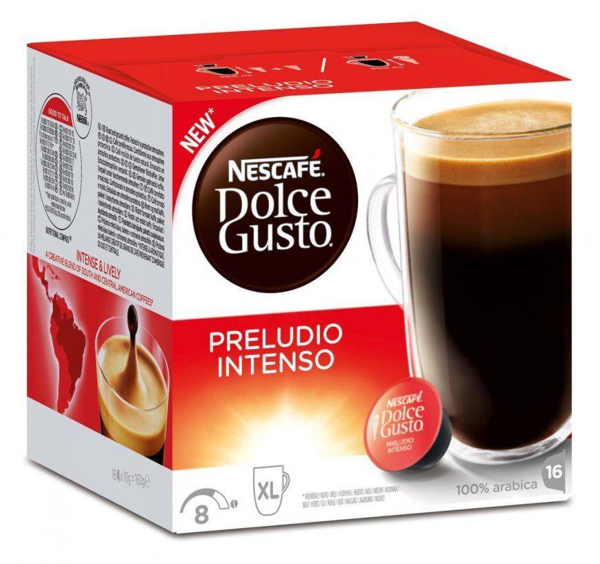 Nescafé Dolce Gusto Preludio Intenso  8  Real von Dolce Gusto Angebot Real Bild