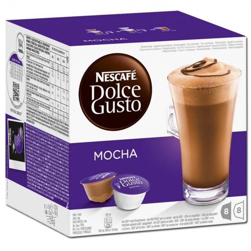 Nestlé Nescafé Dolce Gusto Mocha 8 Portionen  Real von Dolce Gusto Angebot Real Bild
