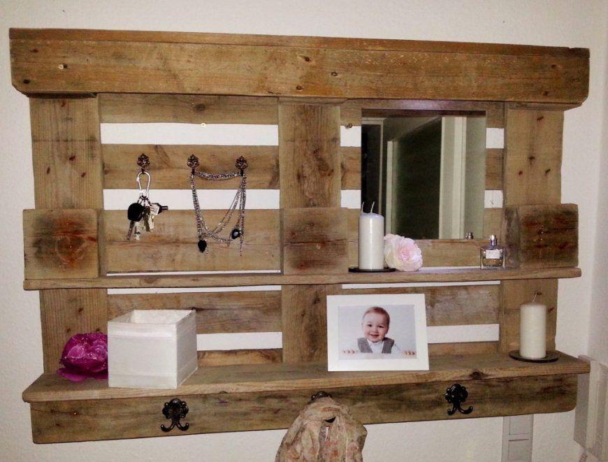 Nett Garderobe Europalette Garderoben Flurgarderobe Holz Ein von Garderobe Aus Paletten Anleitung Bild