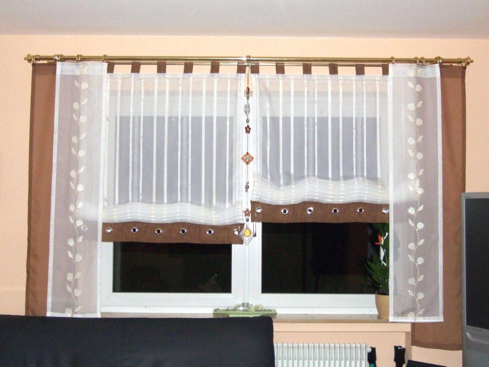 Nett Küchenfenster Vorhang Ideen Ideen Ideen Für Die Küche Schema von Gardinen Ideen Für Große Fenster Bild