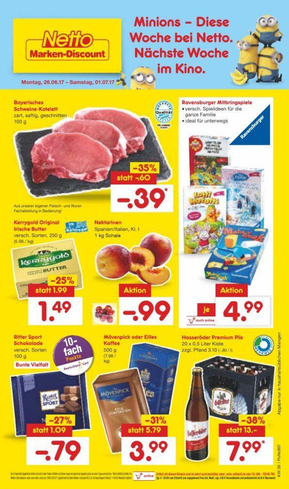 Netto Prospekt – Marken Discount – Woche 26 – 2017 – Aktuelle von Senseo Pads Angebot Netto Bild