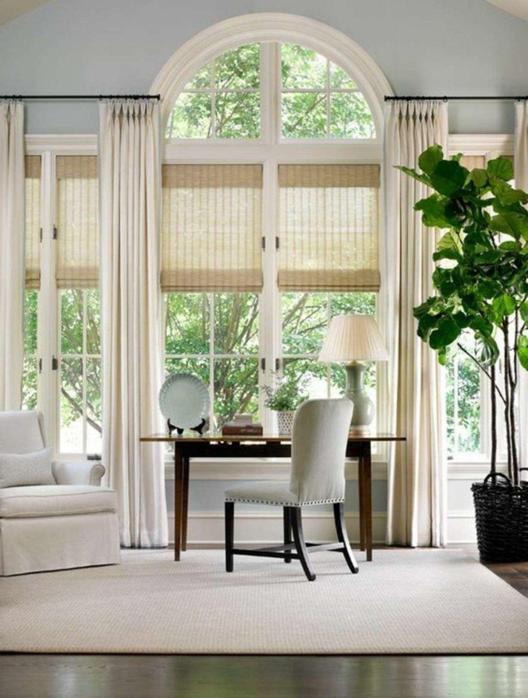 Fenster gestalten mit gardinen trendy gardinen wohnzimmer - Fenster dekorieren ideen ...