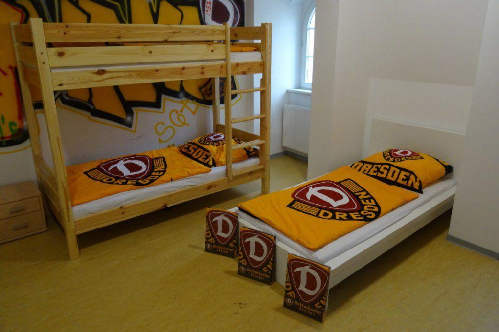 Neue Bettwäsche Für Dynamonachwuchs von Bettwäsche Dynamo Dresden Bild