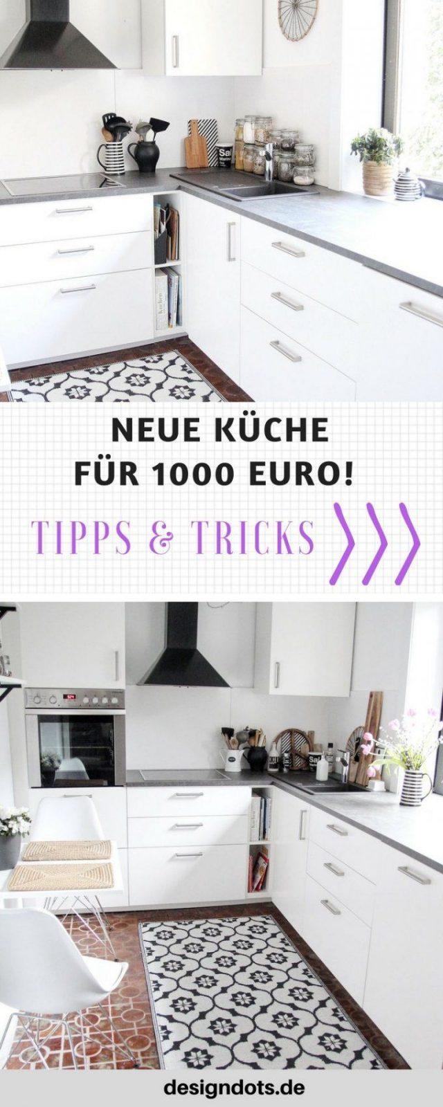 Neue Küche Für 1000 Euro  Renovierte Küche Treppe Renovieren Und von Schlafzimmer Renovieren Vorher Nachher Bild