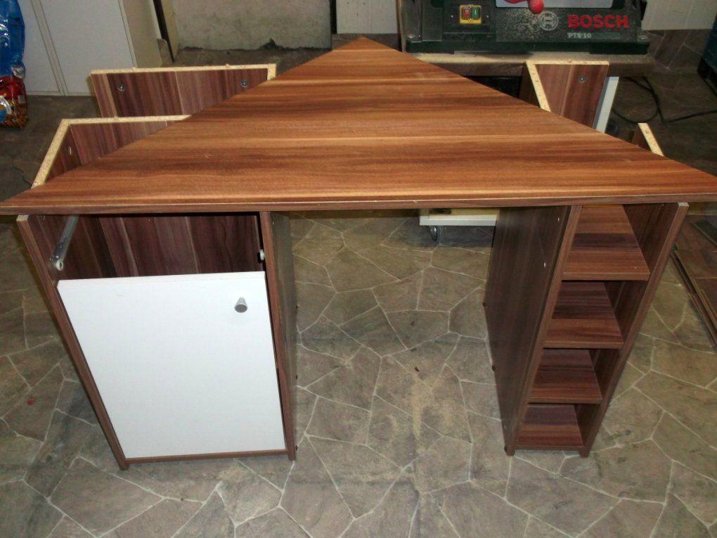 Neuer Computertisch Im Eigenbau Heimwerker Blog Avec Computertisch von Computer Schreibtisch Selber Bauen Bild