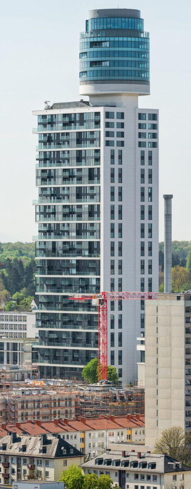 Neuer Henningerturm (140 M  Realisiert)  Seite 31  Deutsches von Henninger Turm Wohnung Kaufen Photo