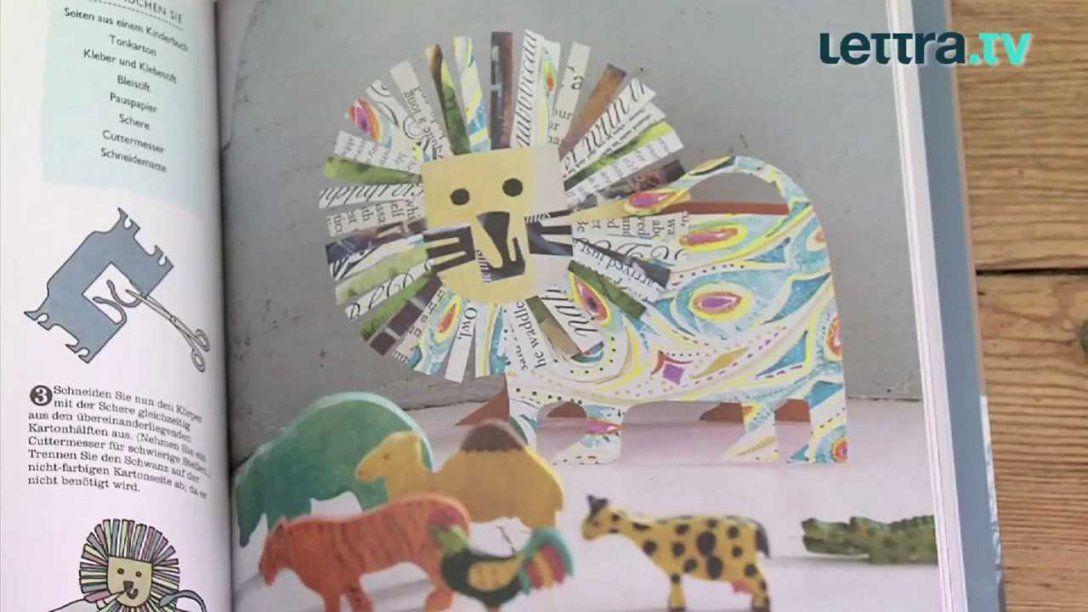 Neues Aus Alten Büchern Von Clare Youngs  Youtube von Recycling Basteln Mit Alten Büchern Bild
