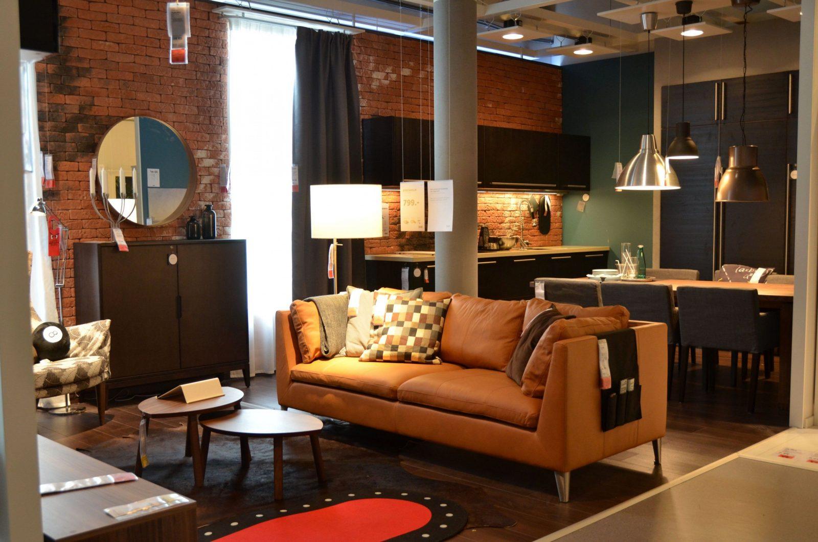 Neueste Ikea Delft Living Room Stockholm Leather Sofa Für Sofa von Ikea Stockholm Sofa Leder Photo