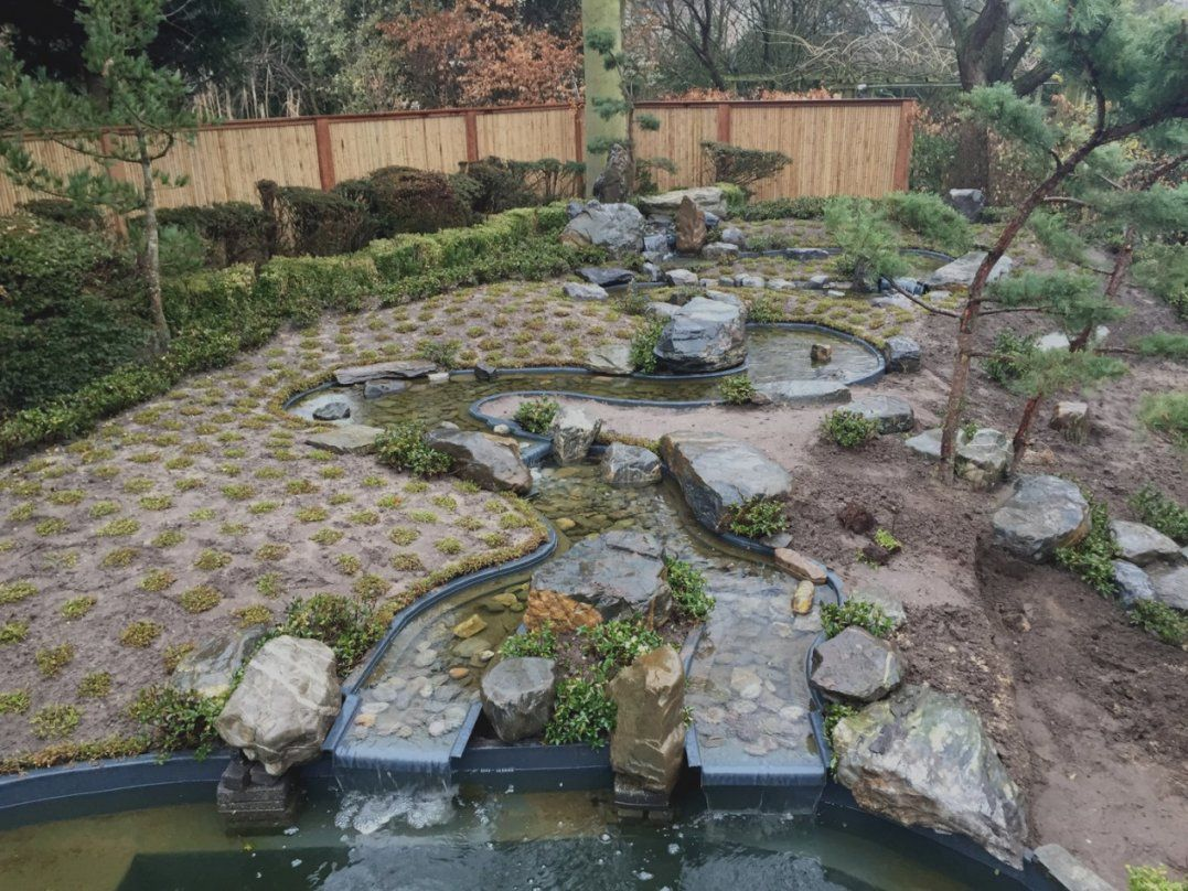 Neuesten Bachlauf Fr Gartenteich Selber Bauen Mit Wasserfall von Wasserfall Gartenteich Selber Bauen Photo