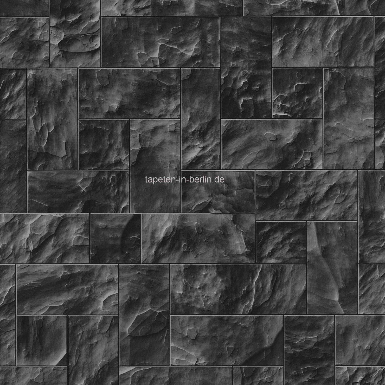 New Steintapeten In 3D Optik Grau Beige Braun Wohnzimmer Steintapete von Steintapeten In 3D Optik Bild
