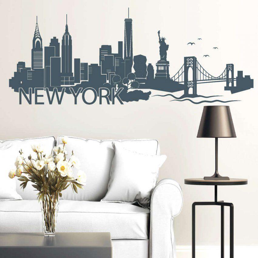 """New York"""" Skyline  Wandtattoo von Wandtattoo New York City Bild"""