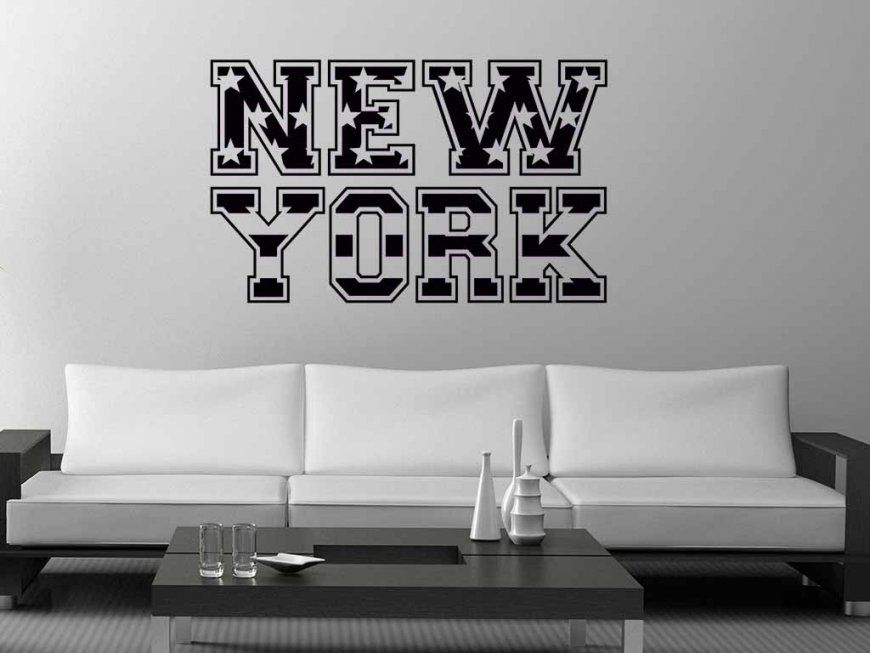 New York Wandtattoo  Prinsenvanderaa von Wandtattoo New York City Bild