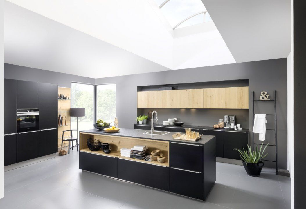Nolte Küchen Mit Kochinsel Und Theke Imposing On Andere Überall von Nolte Küchen Mit Kochinsel Und Theke Photo
