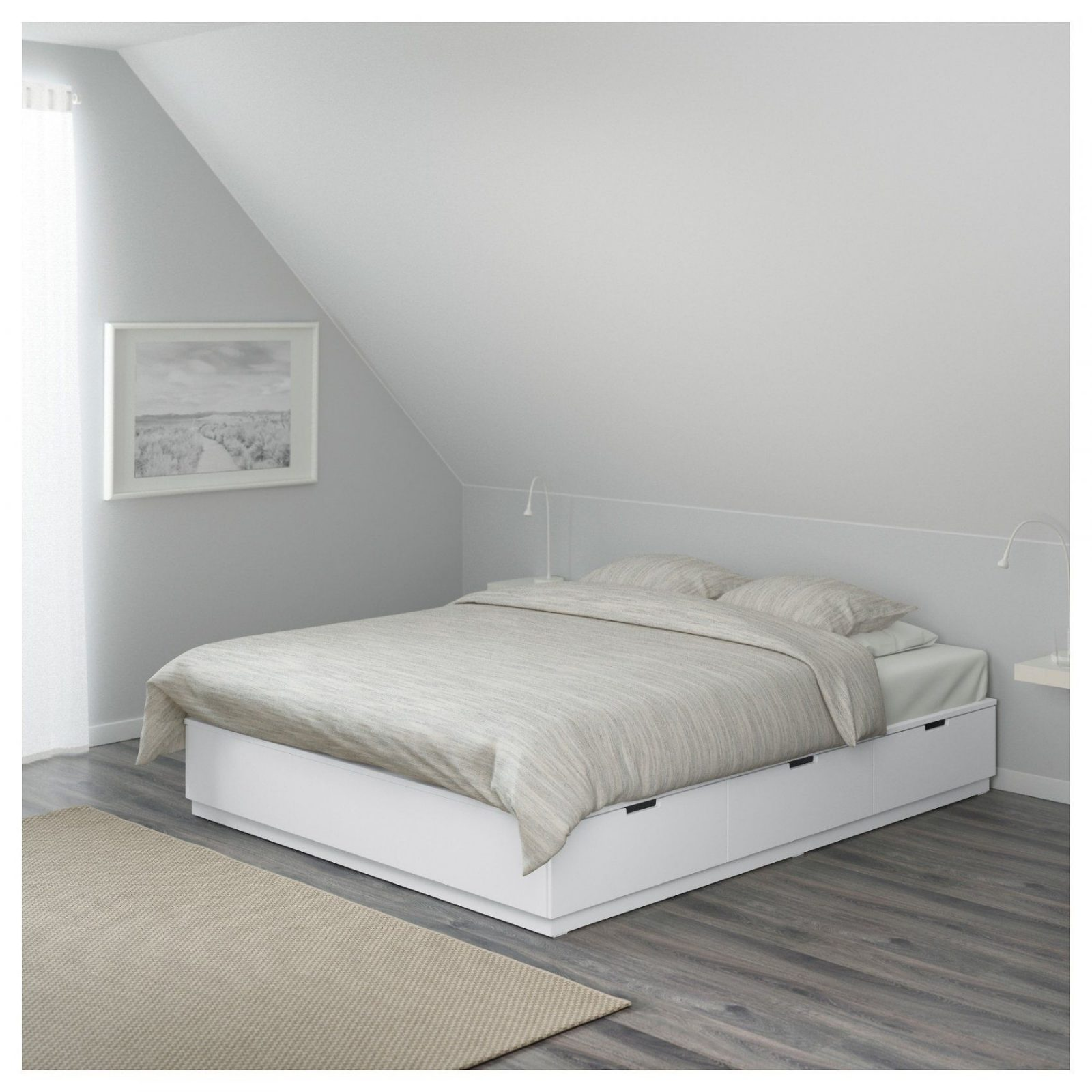 einzelbett mit unterbett wei daredevz von ikea bett mit kasten photo haus design ideen. Black Bedroom Furniture Sets. Home Design Ideas