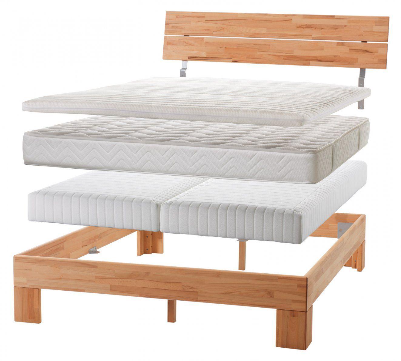 Normales Bett Zum Boxspringbett Umbauen  Einlegesystem Kingston von Bett Zum Boxspringbett Umbauen Photo