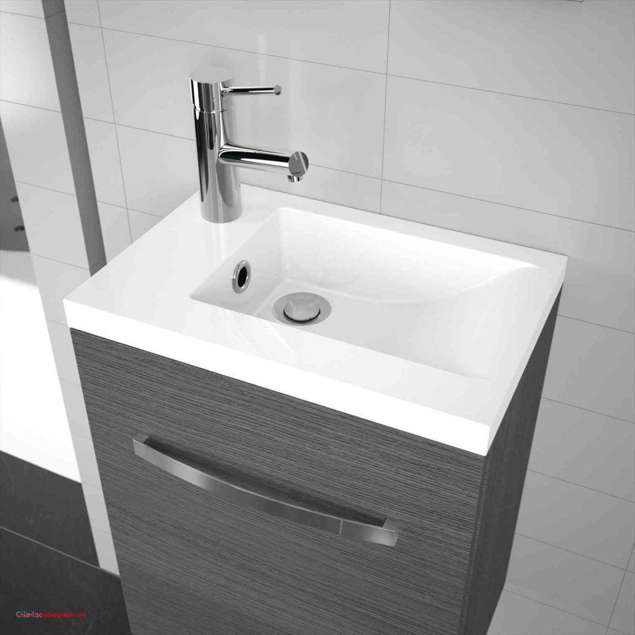 Nowadays Gäste Wc Waschbecken Mit Unterschrank Und Spiegel Sure von Villeroy Boch Gäste Wc Bild