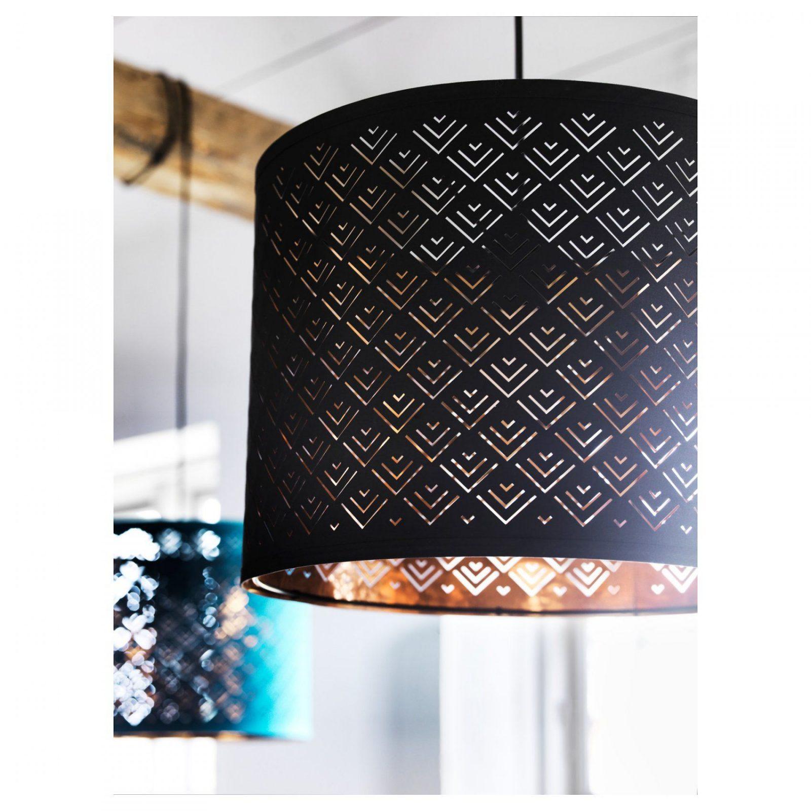 Nymö Lamp Shade Blackcoppercolour 37 Cm von Ikea Lampe Schwarz Kupfer Bild