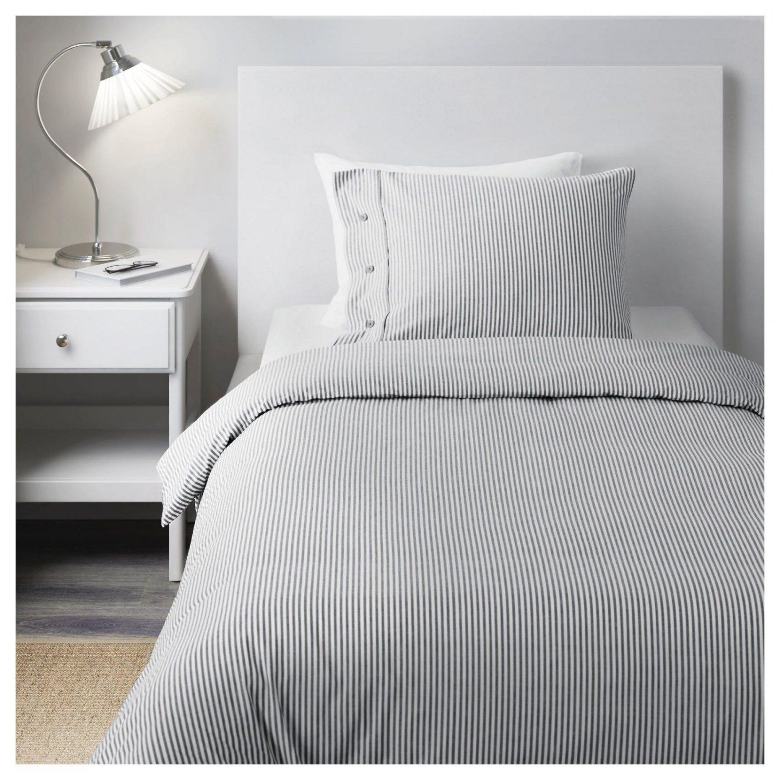 Nyponros Bettwäscheset 3Teilig  240X22080X80 Cm  Ikea von Bettwäsche 220X240 Ikea Bild