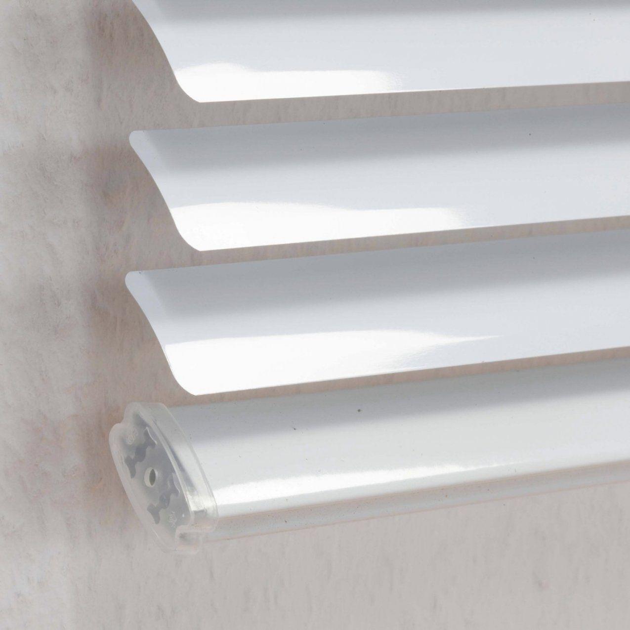 Obi Aluminium Jalousie Burgos 50 Cm X 160 Cm Weiß Kaufen Bei Obi von Rollo An Gardinenschiene Befestigen Photo