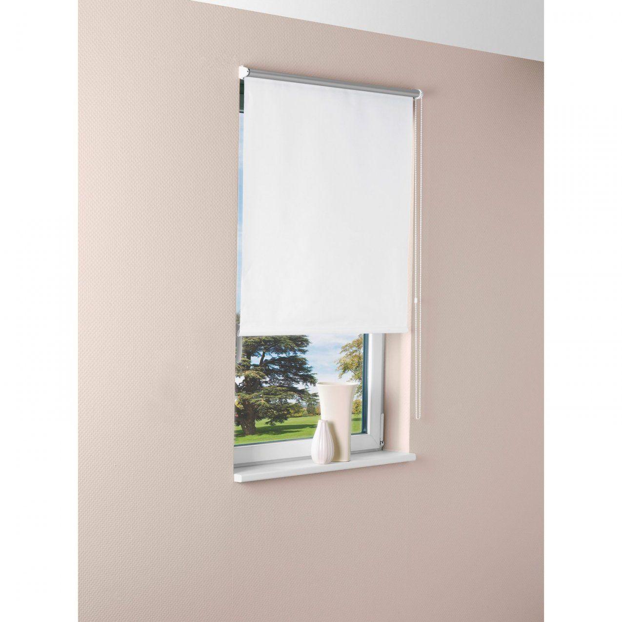 Obi Sonnenschutzrollo Pamplona 45 Cm X 175 Cm Weiß Kaufen Bei Obi von Rollo 45 Cm Breit Bild