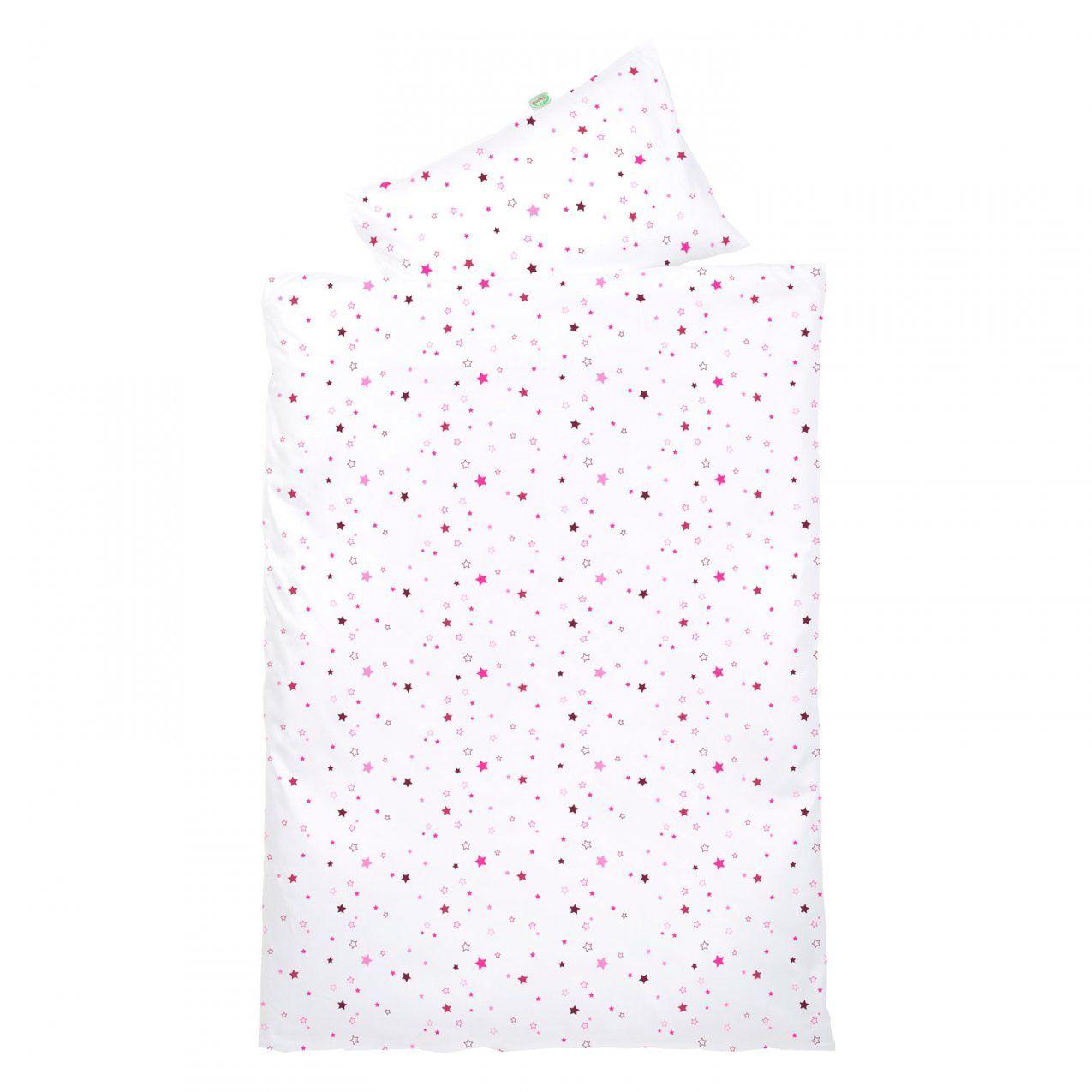 Odenwälder Bettwäsche 100X135 Sterne Pinkblackberry  Babyjoech von Bettwäsche 100X135 Sterne Photo
