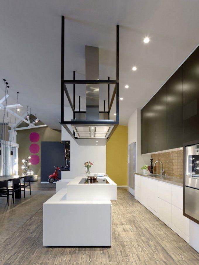 Offene Küche Mit Wohnzimmer  Pro Contra Und 50 Ideen von Moderne Wohnzimmer Mit Offener Küche Bild