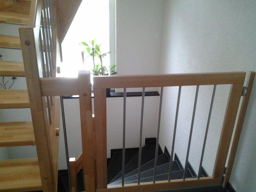 Offene Treppe Kindersicher von Kindersicherung Treppe Selber Bauen Bild