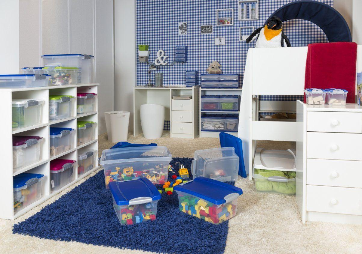 Ordnung Und Aufbewahrung Im Kinderzimmer  So Funktioniert Es von Regal Mit Aufbewahrungsboxen Für Kinderzimmer Photo
