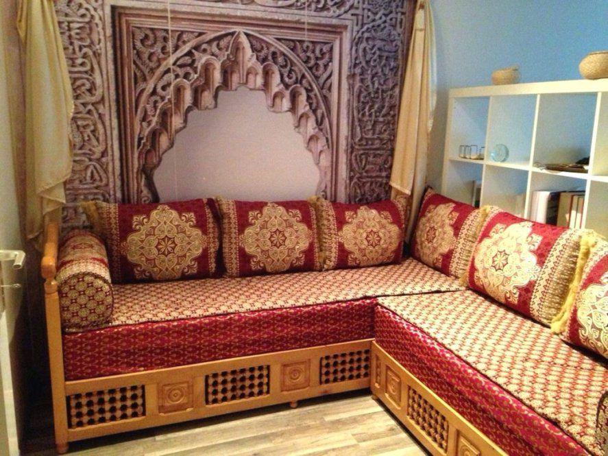 Orientalische Möbel Ideen Mit Schoner Wohnen Orientalisches von Orientalische Sitzecke Selber Bauen Bild