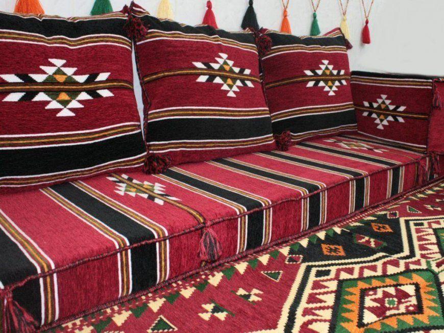 Orientalische Sitzeckesitzkissensitzgruppe 5 Teilig Komplett von Orientalische Sitzecke Selber Bauen Bild
