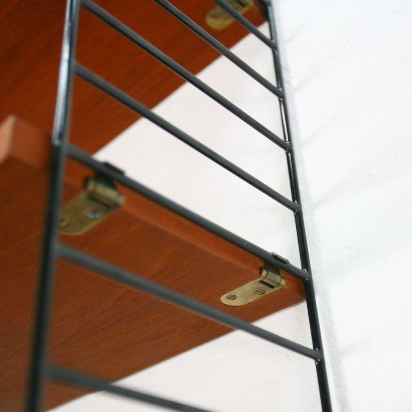 Original String Regal Mit Vier Böden Teak  The Hunter von String Regal Original Erkennen Photo