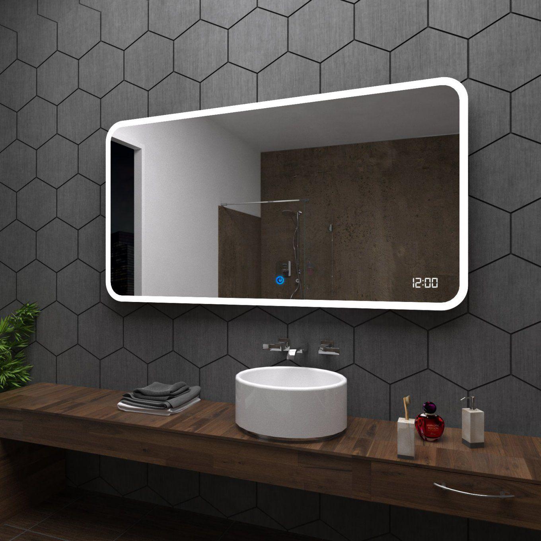 Osaka Badspiegel Mit Led Beleuchtung Spiegel Wandspiegel von Led Badspiegel Nach Maß Bild