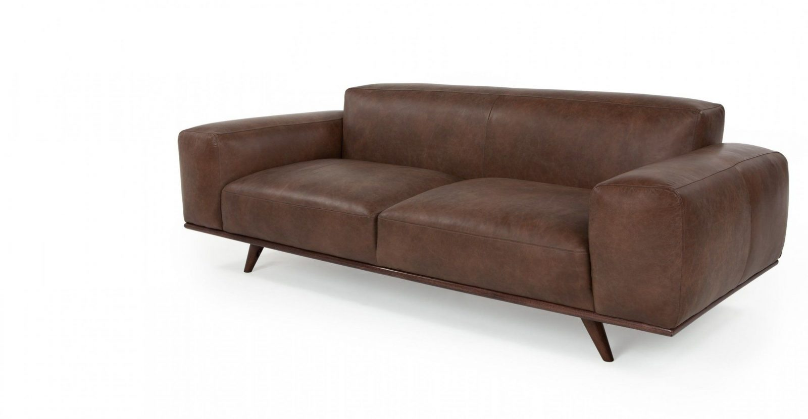 Otto 3 Seater Sofa Tan Premium Leather From Made Brown The von Otto 2 Sitzer Sofa Bild