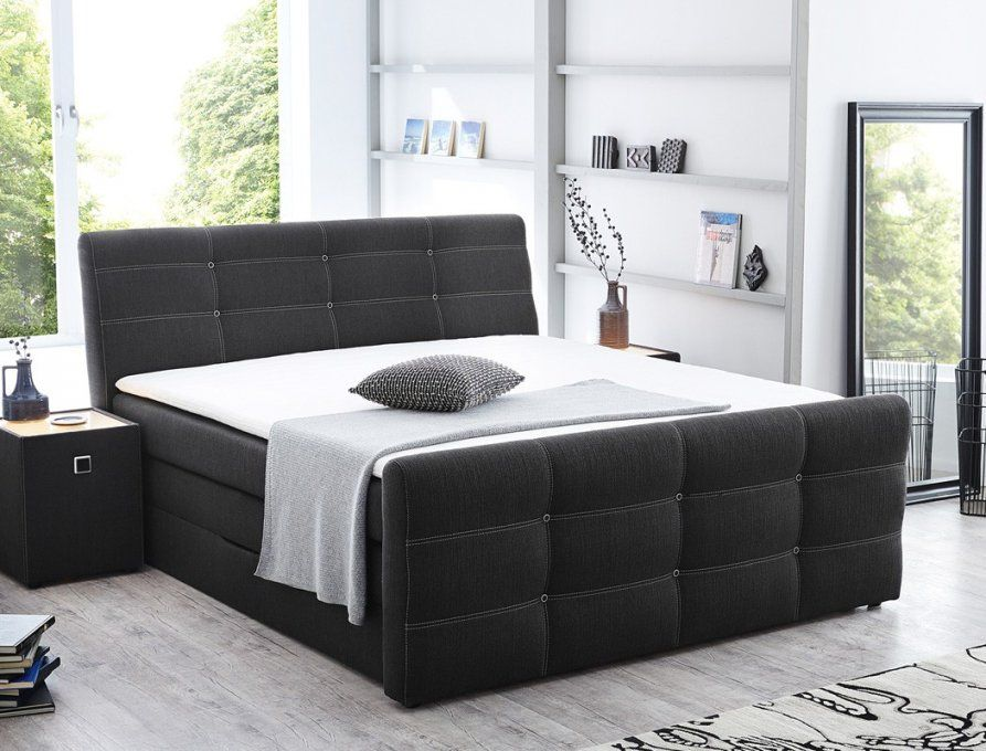 das passende 44 bilder boxspringbett 160x200 otto. Black Bedroom Furniture Sets. Home Design Ideas