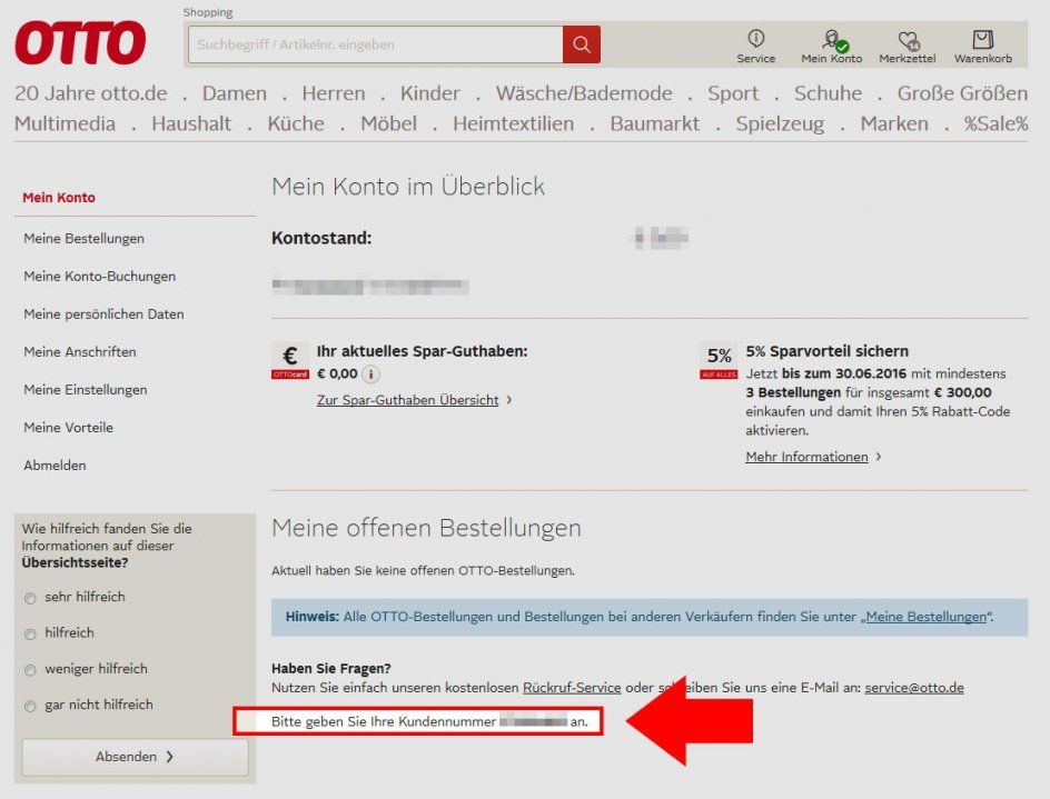 Otto Versand Konto : otto versand telefonnummer zum bestellen haus design ideen ~ Watch28wear.com Haus und Dekorationen