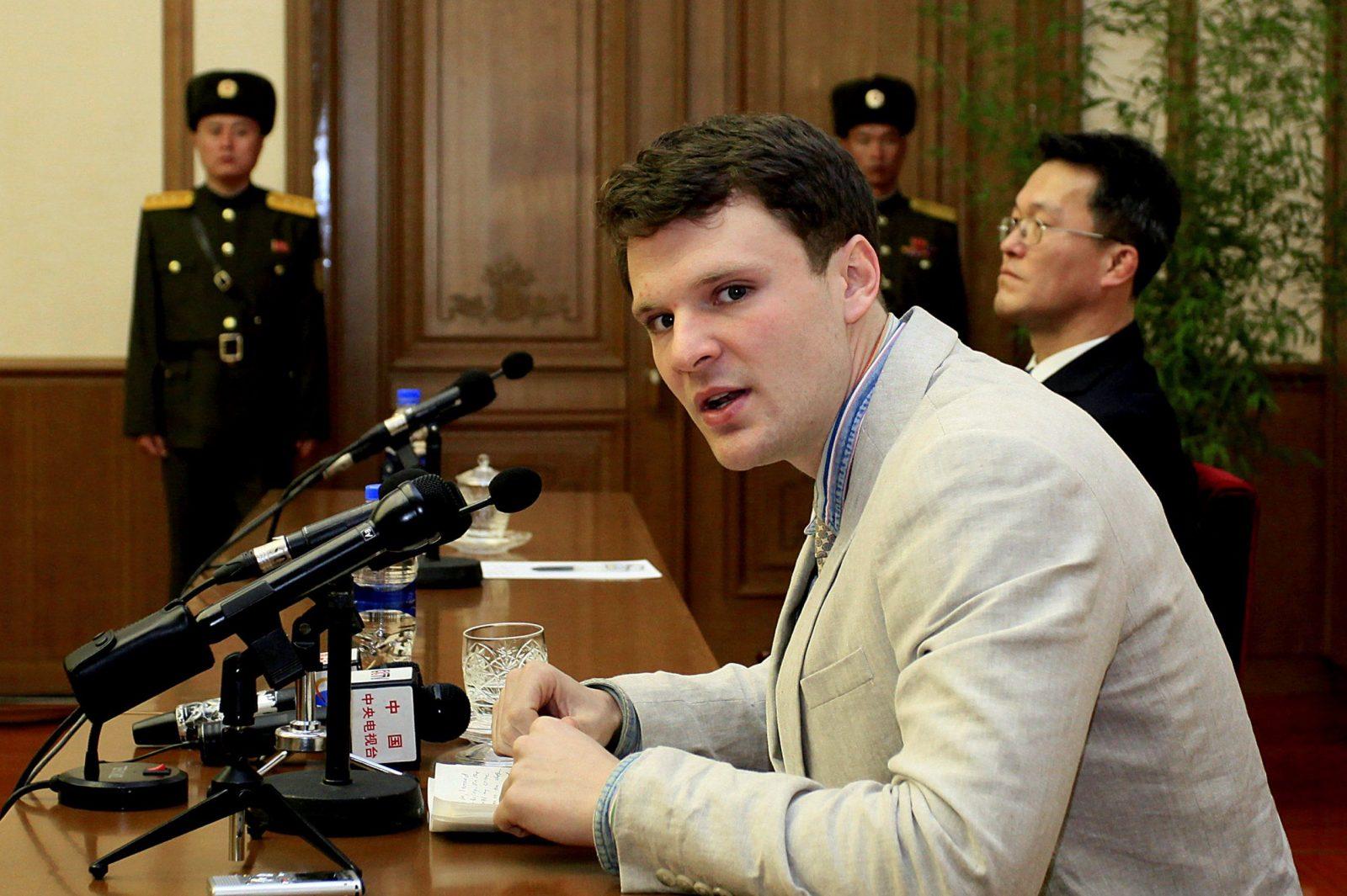 Otto Warmbier Release Unclear For North Korea Us Captive  Time von Otto Office Aktionscode 2016 Bild