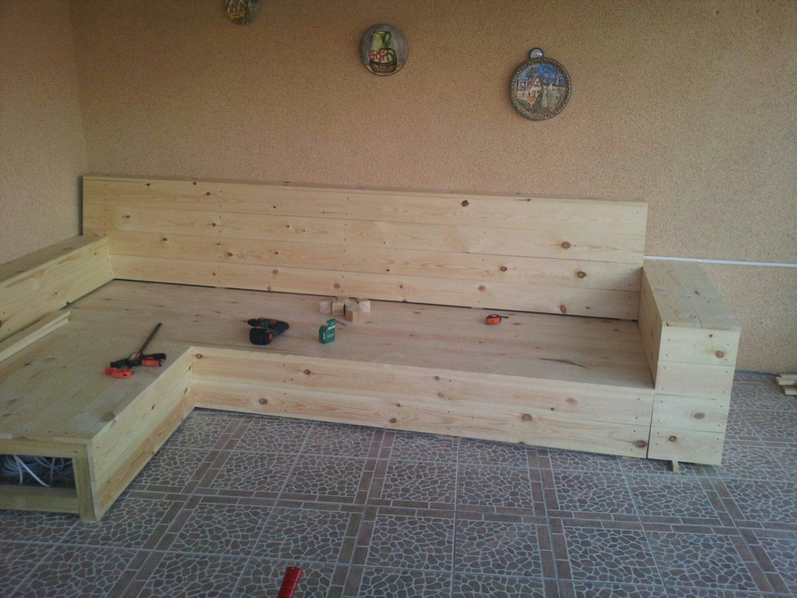 Lounge Gartenmöbel Holz Selber Bauen Haus Design Ideen