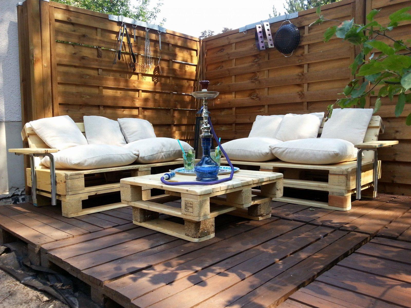Paletten Im Garten Awesome Fantastisch Mobel Aus Paletten Bauen Von