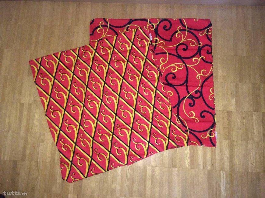 Paloma Picasso Bettwäsche 2 Garnituren Rot Schwarz Gelb In Solothurn von Paloma Picasso Bettwäsche Photo