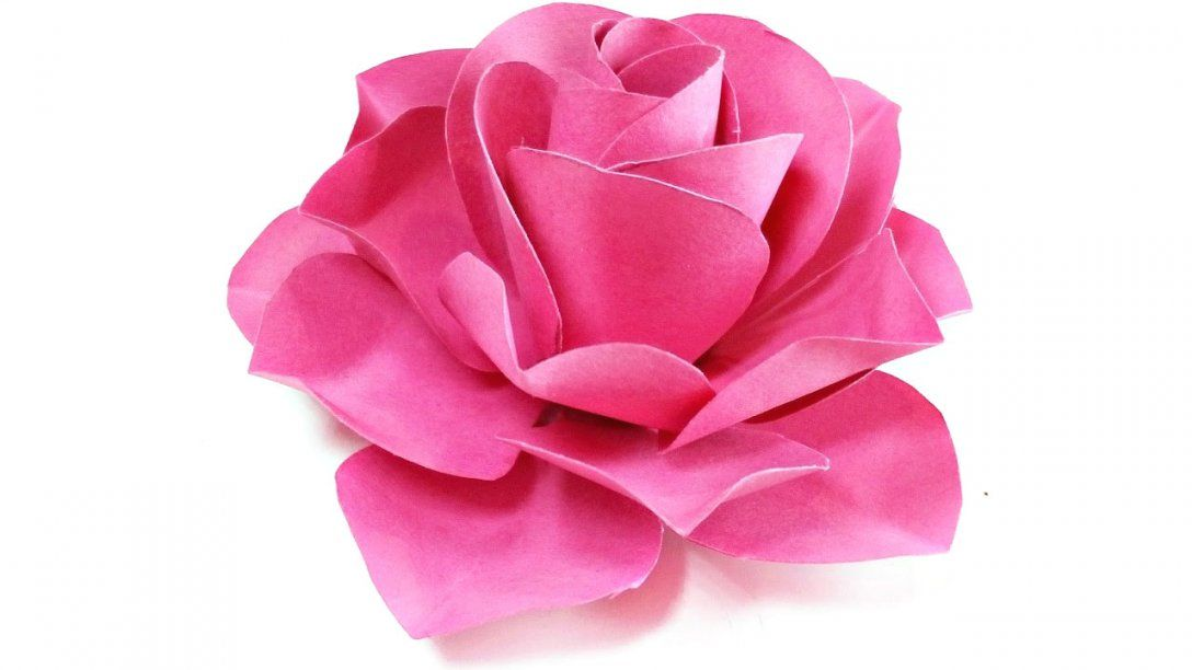 Papier Rose Basteln Avec Papier Deko Selber Machen Et Rose Aus von Rose Basteln Papier Anleitung Photo