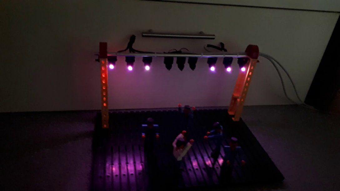 Par Led Bühnenbeleuchtung Mit Arduino Selber Bauen  Youtube von Moving Head Selber Bauen Photo