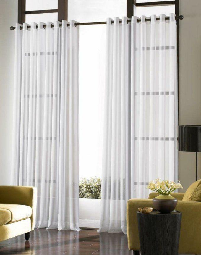 Passende Gardinen Für Das Wohnzimmer Auswählen  20 Schöne Ideen von Gardinen Ideen Wohnzimmer Modern Photo