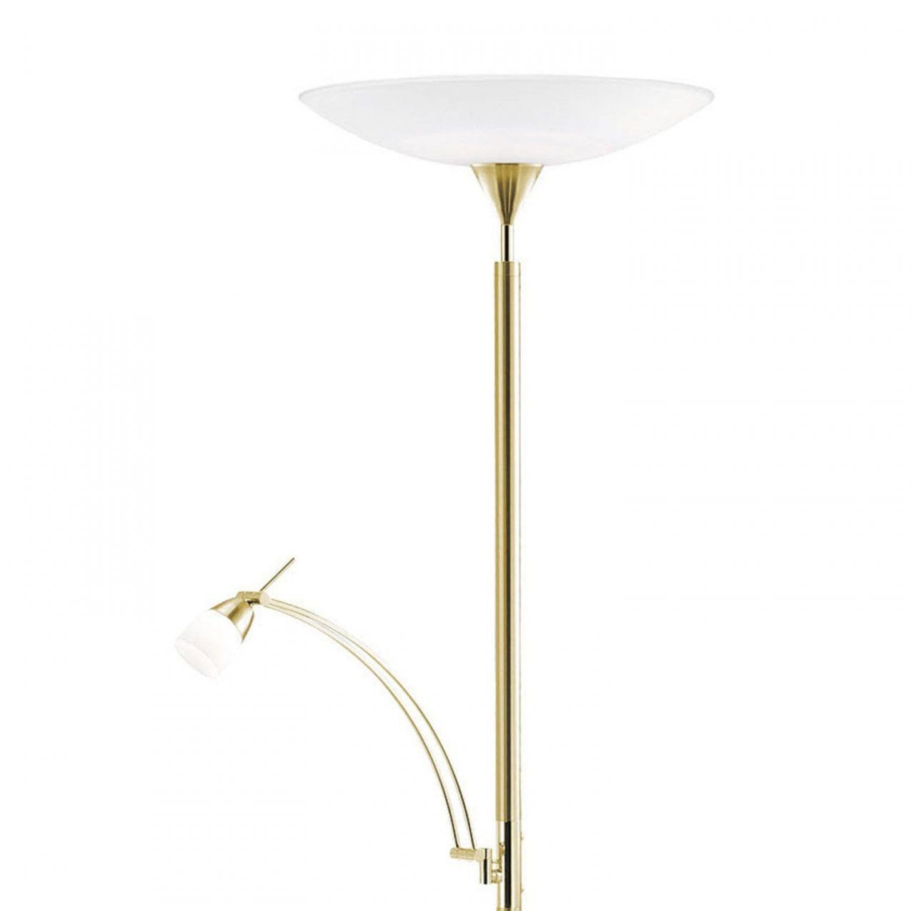 Paul Neuhaus Ledstehleuchte Pearl Messing Matt Eek A+ Kaufen Bei Obi von Led Stehlampe Messing Dimmbar Bild